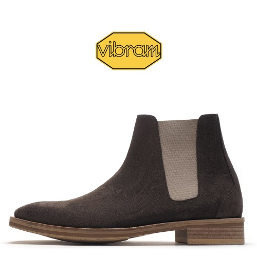 9005-CUS01 / Deep Brown Suede / Vibram 01 / A2