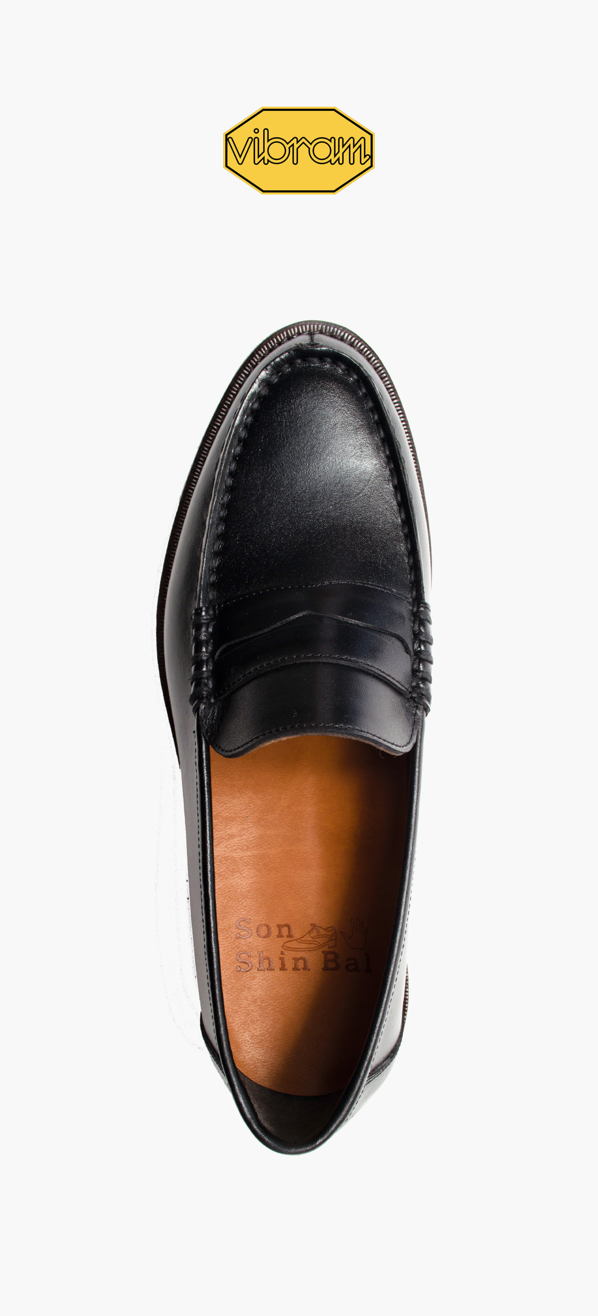 Penny Loafer 2022-09 Black Kip