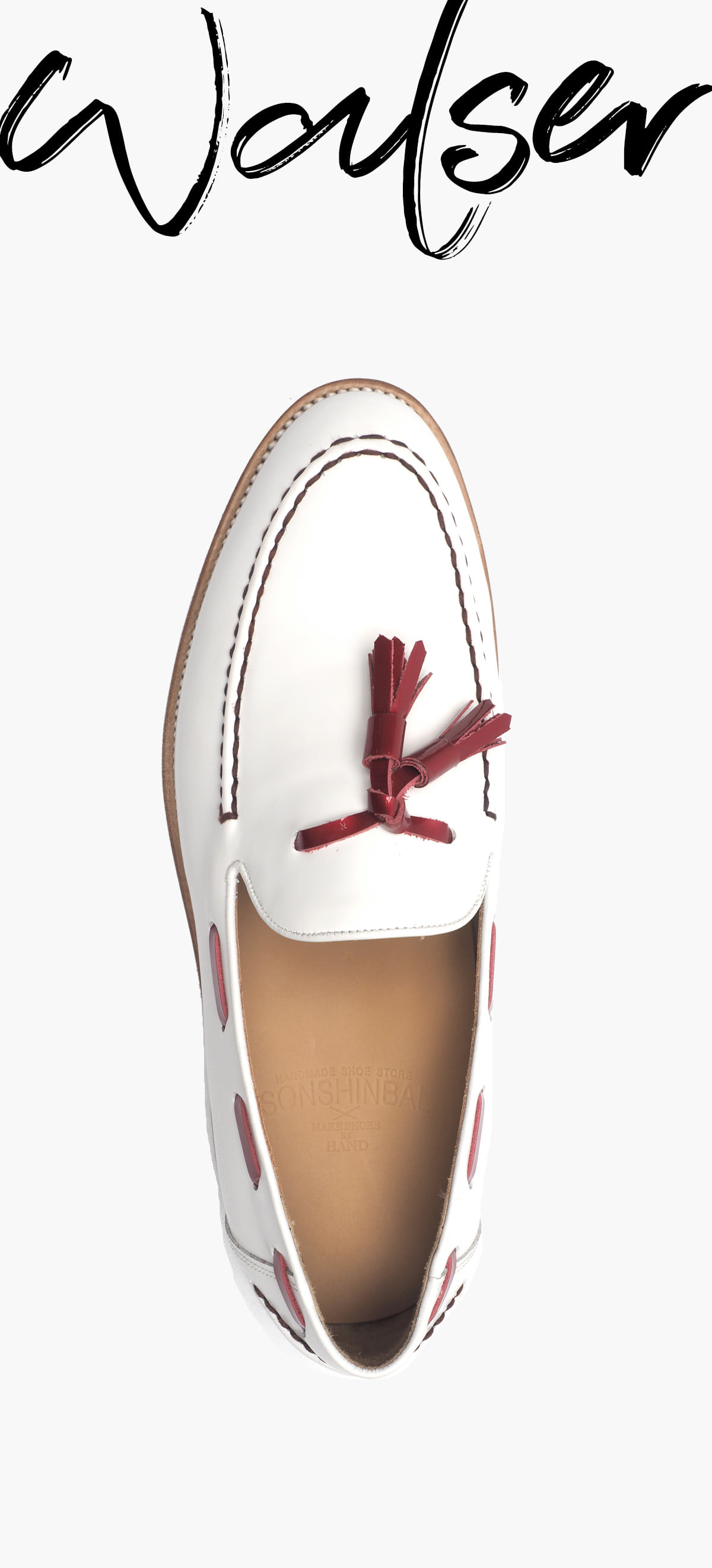 Tassel Loafer 2039-RW02 White Box