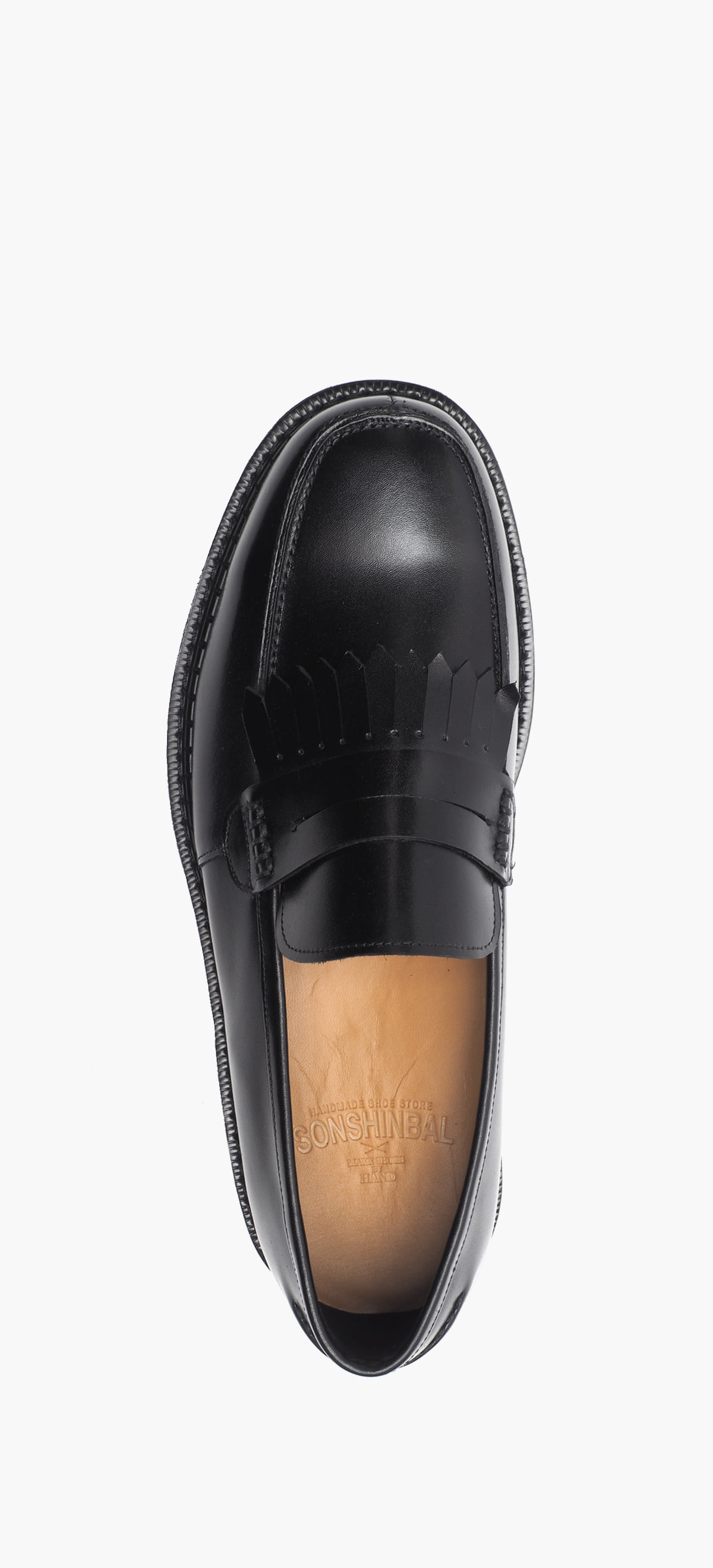 Penny Loafer 2024-19 Black Kip