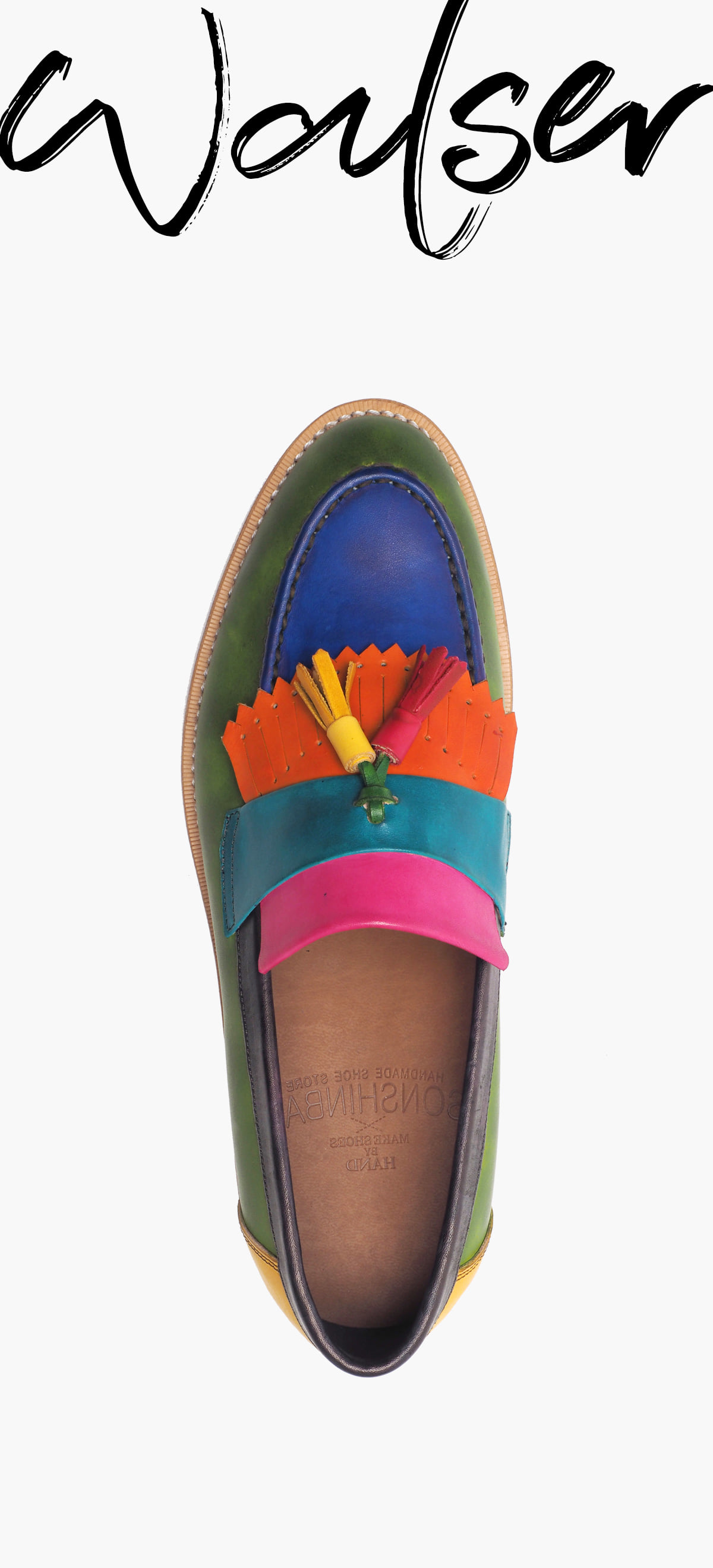 Tassel Loafer 0070-RW01 MULTI COLOR