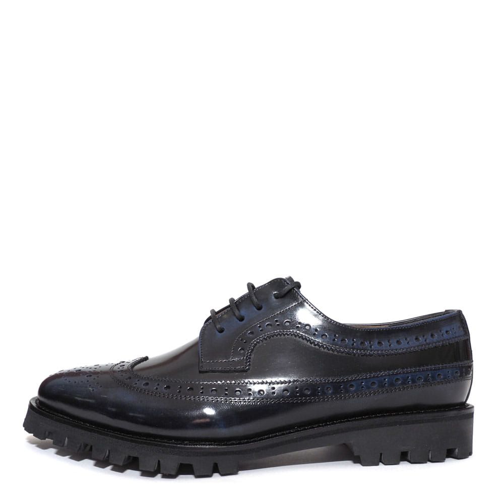 Wing Tip 0027-87 Navy Two-Tone Combination