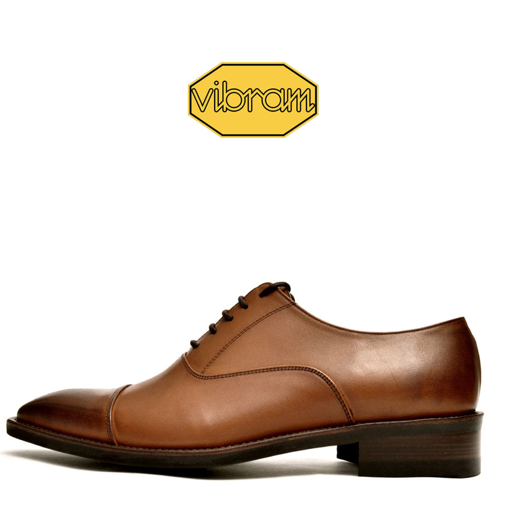 Straight Tip 8002-10 Brown Calf